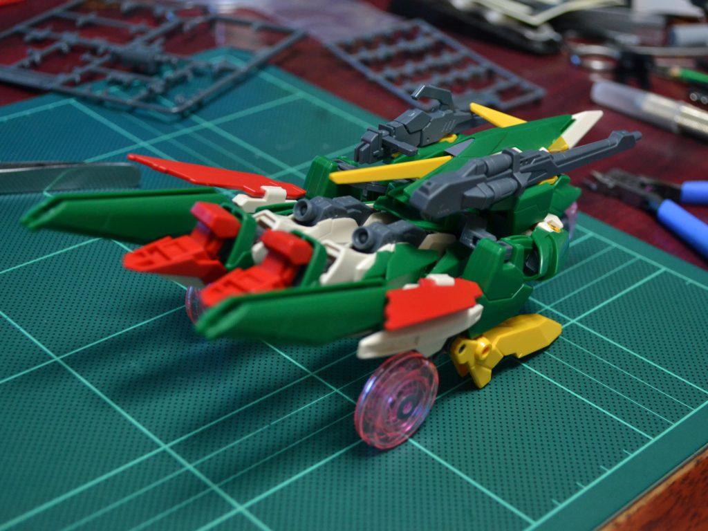 HGBF 1/144 XXXG-01Wfl ガンダムフェニーチェリベルタ [Gundam Fenice Liberta] 背面