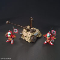 SDガンダム BB戦士 典韋アッシマー 賈詡アシュタロン 攻城兵器セット&合体武装6種(甲) 公式画像11