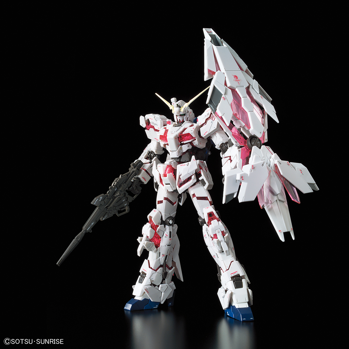 62268RG 1/144 RX-0 ユニコーンガンダム (バンデシネVer.) [Unicorn Gundam (Bande Dessinee Ver.)]