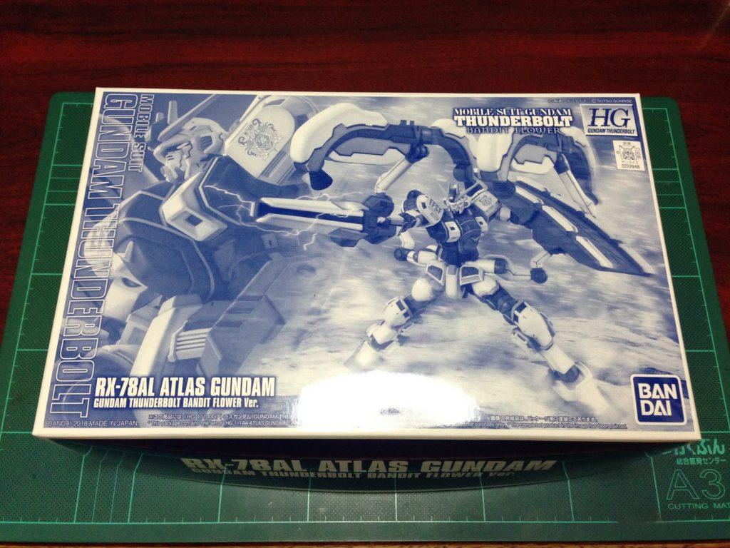 HG 1/144 RX-78AL アトラスガンダム(GUNDAM THUNDERBOLT BANDIT FLOWER Ver.)[Atlas Gundam] パッケージ