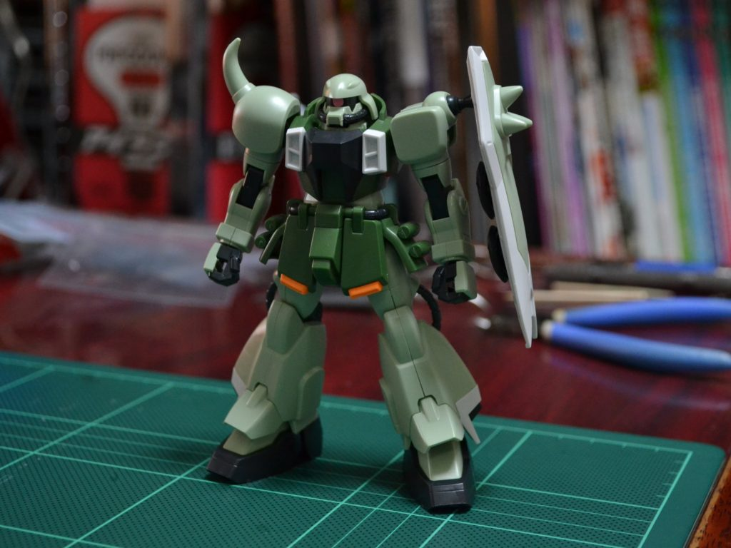HG 1/144 ZGMF-1000 ザクウォーリア [ZAKU Warrior] 正面