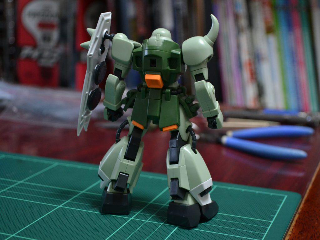 HG 1/144 ZGMF-1000 ザクウォーリア [ZAKU Warrior] 背面