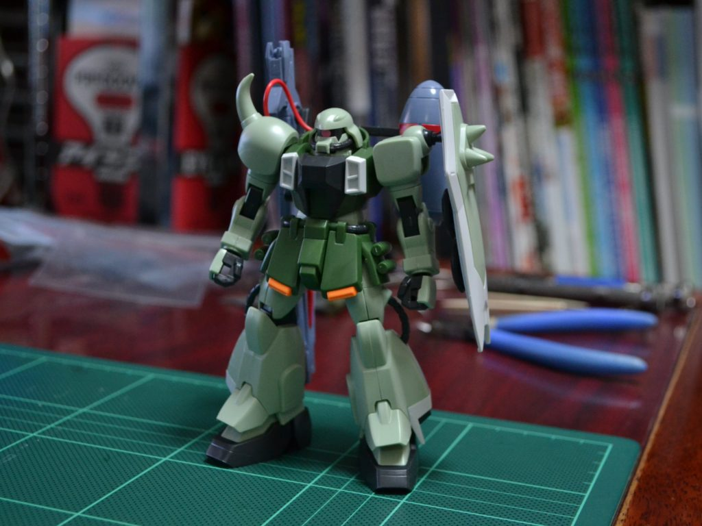 HG 1/144 ZGMF-1000/A1 ガナーザクウォーリア 正面