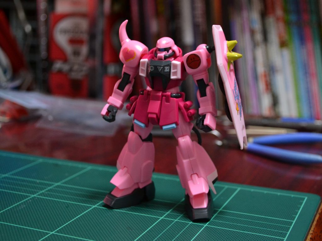 HG 1/144 ZGMF-1000 ザクウォーリア(ライブ・コンサートver.) [ZAKU Warrior Live Concert Ver.] 正面