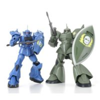 HGUC 1/144 MS-07B グフ & MS-14G ゲルググ(ヴィッシュ・ドナヒュー専用機) [Gouf & Gelgoog Ground Type (Visch Donahue Customs)]