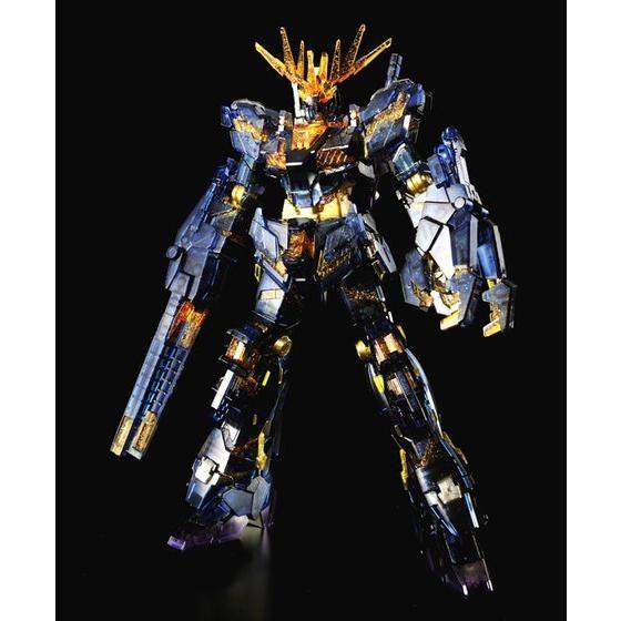 HGUC 1/144 RX-0 ユニコーンガンダム2号機 バンシィ(デストロイモード)NT-DクリアVer. [Unicorn Gundam 02 Banshee (Destroy Mode) (NT-D Clear Ver.)]