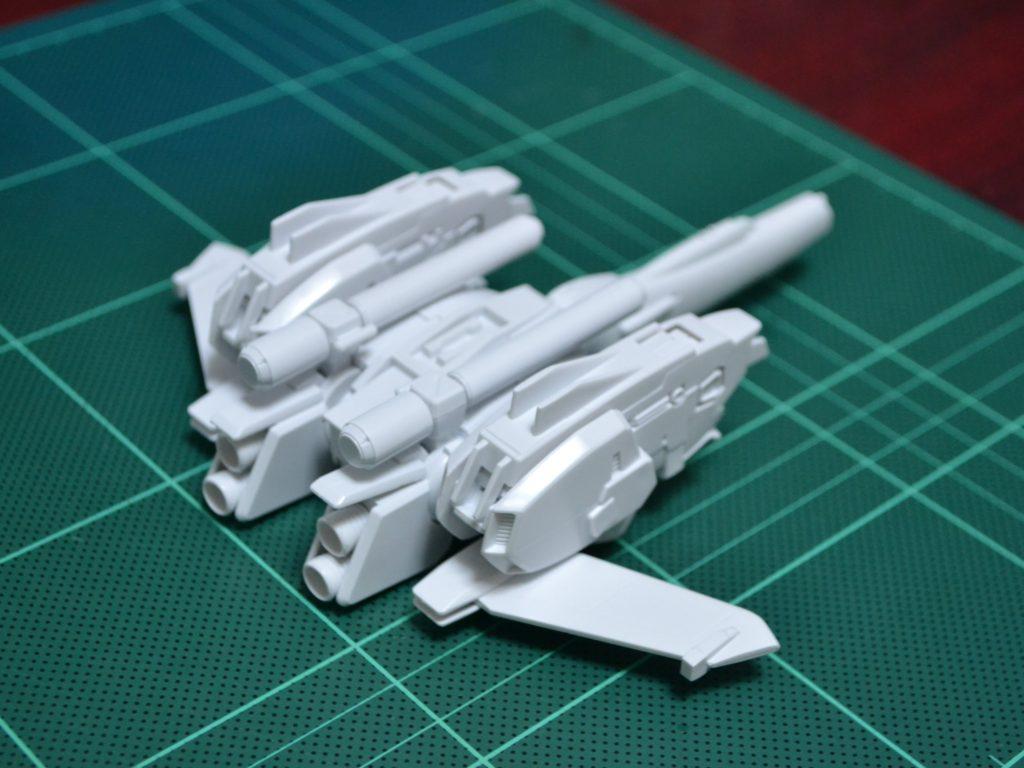 EXモデル 1/144 Sガンダムアタッカー 背面