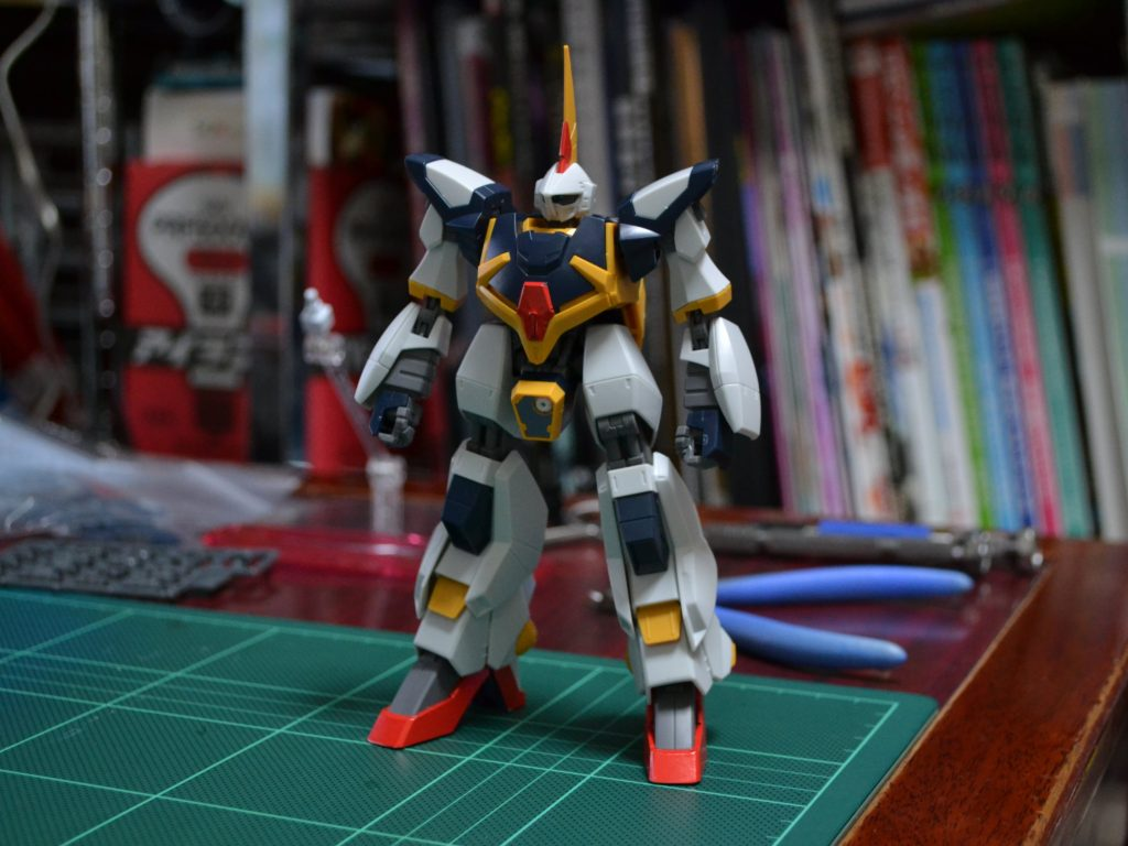 HGBF 1/144 RMS-154[W] ヴァイスバーザム [Weiss Barzam] 正面