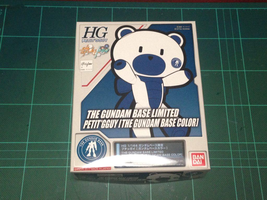 HGPG 1/144 ガンダムベース限定 プチッガイ [ガンダムベースカラー] [The Gundam Base Limited Petit'gguy [The Gundam Base Color]] パッケージ