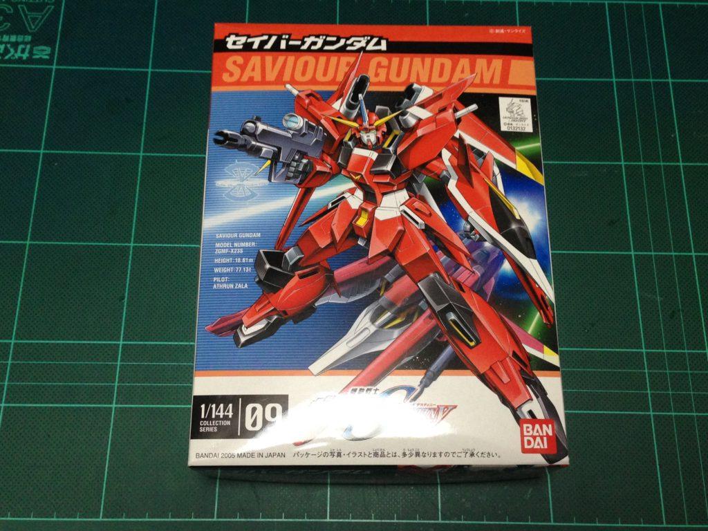 コレクションシリーズ 1/144 ZGMF-X23S セイバーガンダム [Collection Series Saviour Gundam] パッケージ