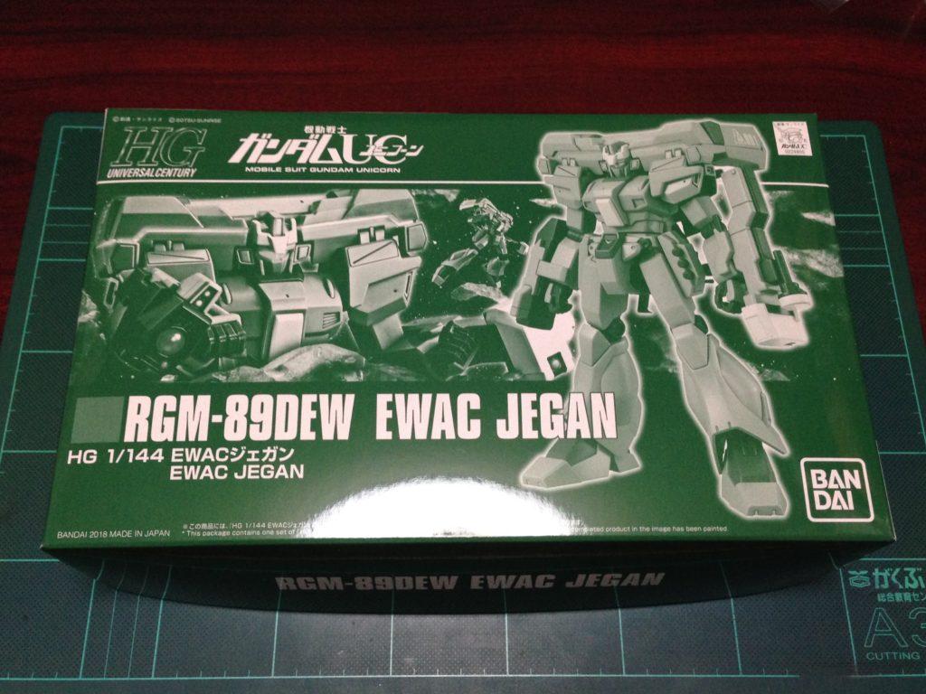 HGUC 1/144 RGM-89DEW EWACジェガン パッケージ