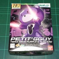 HGPG 1/144 プチッガイ ティエリア・アーデパープル&プラカード [Petit'gguy Tieria Erde Purple & Placard]