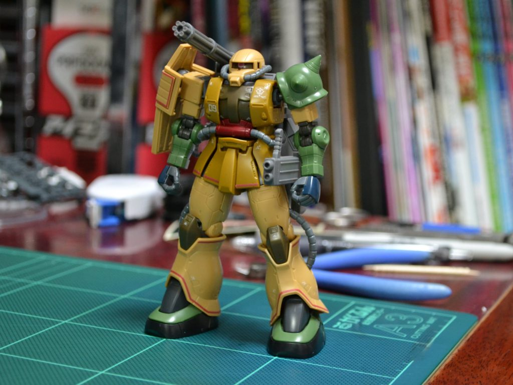 MS-06JK ザク・ハーフキャノン [Zaku Half Cannon]《THE ORIGIN》 正面