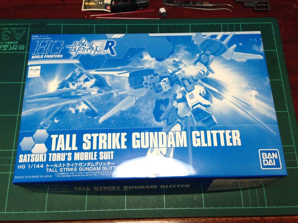 HGBF 1/144 GAT-X105/TG トールストライクガンダムグリッター [Tall Strike Gundam Glitter] パッケージ