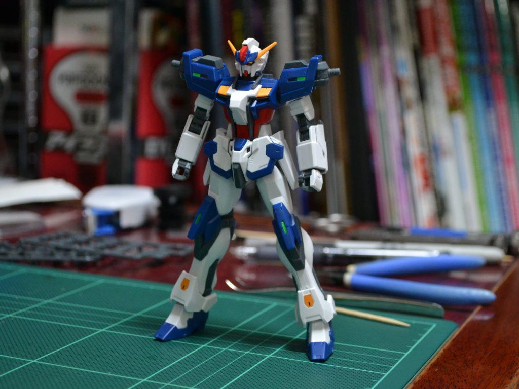 HGBF 1/144 GAT-X105/TG トールストライクガンダムグリッター [Tall Strike Gundam Glitter] 正面