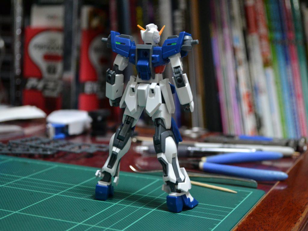 HGBF 1/144 GAT-X105/TG トールストライクガンダムグリッター [Tall Strike Gundam Glitter] 背面