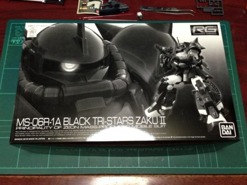 RG 1/144 MS-06R-1A 黒い三連星専用ザクII [Black Tri-Stars zaku II]