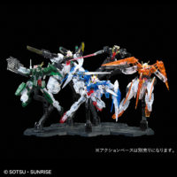 HG 1/144 「機動戦士ガンダム00」2nd Season MSセット[クリアカラー] [Mobile Suit Gundam 00 2nd Season MS Set [Clear Color]] 公式画像1