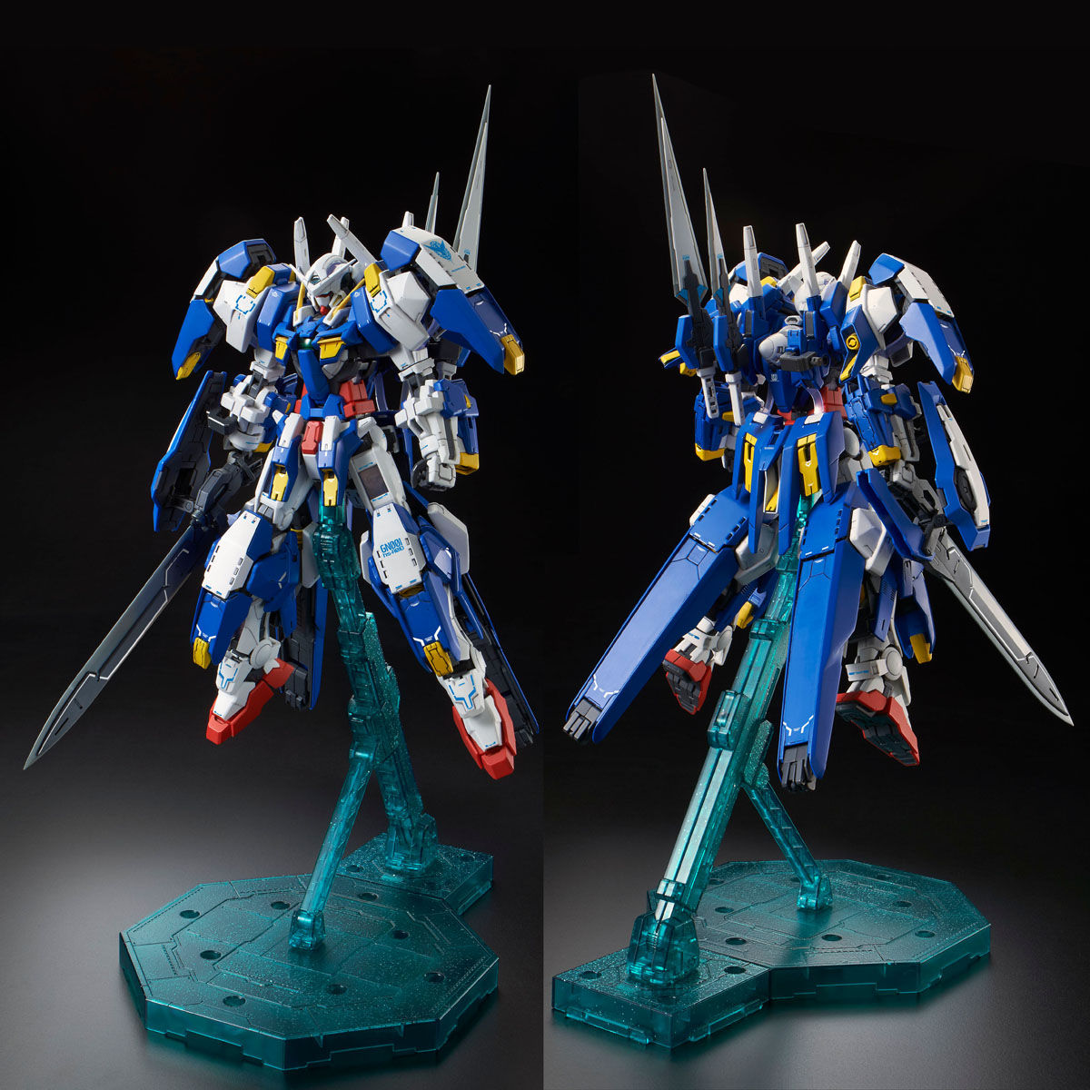 71489MG 1/100 GN-001/hs-A01D ガンダムアヴァランチエクシアダッシュ [Gundam Avalanche Exia']