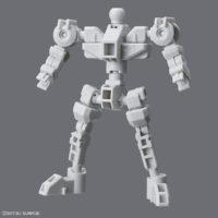 SDガンダム クロスシルエット(SDCS)  クロスシルエットフレーム[ホワイト][SD Gundam Cross Silhouette Cross Silhouette Frame [White]] 素組画像
