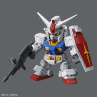 SDガンダム クロスシルエット(SDCS) 001 RX-78-2 ガンダム [SD Gundam Cross Silhouette RX-78-2 Gundam] 素組画像