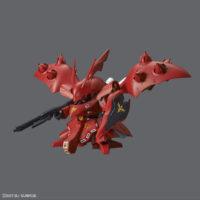 SDガンダム クロスシルエット(SDCS)  002 ナイチンゲール [SD Gundam Cross Silhouette Nightingale] 素組画像