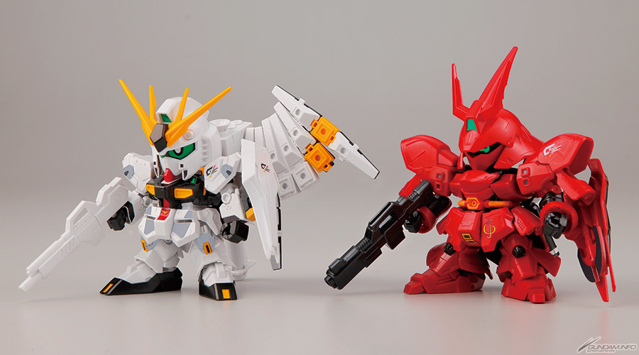 75447SDガンダム BB戦士 νガンダム vs サザビー THE FATEFUL BATTLE セット(GDHKIII リミテッドカラーVer.)  [νGUNDAM vs SAZABI -THE FATEFUL BATTLE- SET (GDHKIII LIMITED)]