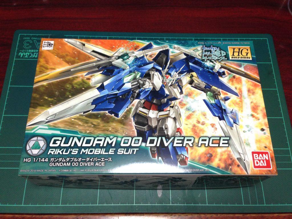 HGBD 1/144 ガンダムダブルオーダイバーエース [Gundam 00 Diver ACE] JAN:4549660257561 パッケージ