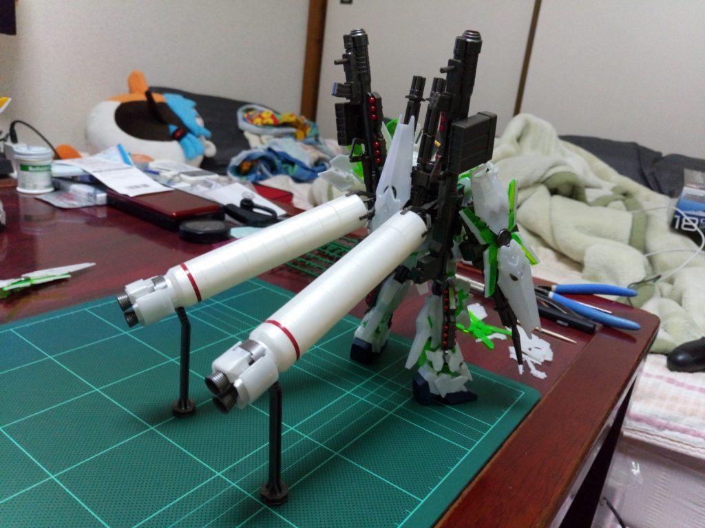 HGUC 1/144 ユニコーンガンダム1号機&2号機 Ver.GFT (ストライク オダイバ セット) 背面