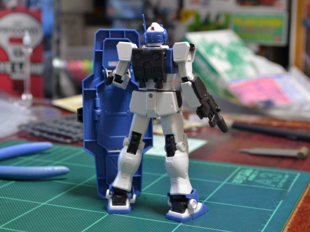 HG 1/144 RGM-79HC ジム・ガードカスタム [GM Guard Custom] JAN:4549660303558 背面