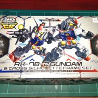 SDガンダム クロスシルエット(SDCS)  RX-78-2 ガンダム & クロスシルエットフレーム セット [SD Gundam Cross Silhouette RX-78-2 Gundam & Cross Silhouette Frame Set] 4549660283812 パッケージ