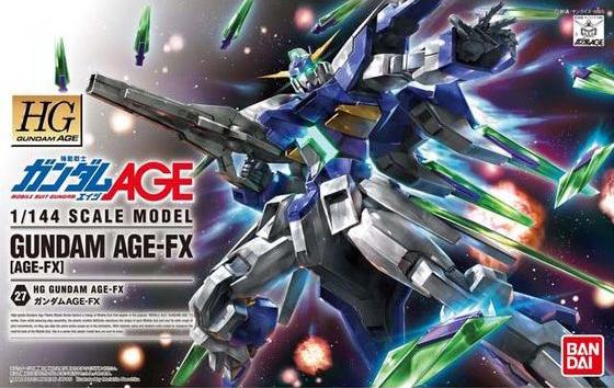 HG 1/144 AGE-FX ガンダムAGE-FX [Gundam AGE-FX]