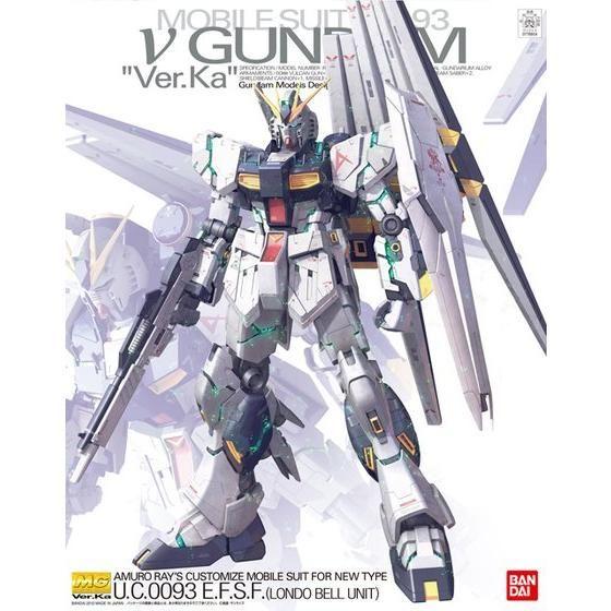 MG 1/100 RX-93 νガンダム Ver.Ka パッケージアート