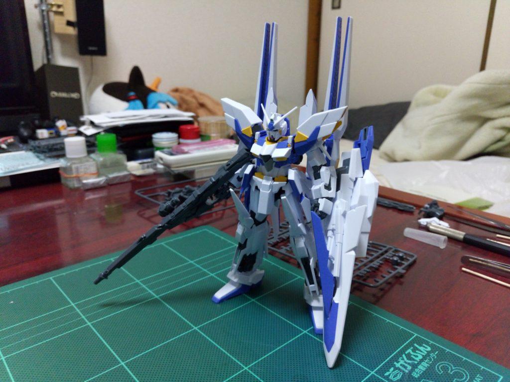 HGUC 1/144 MSN-001X ガンダムデルタカイ [Gundam Delta Kai] 正面