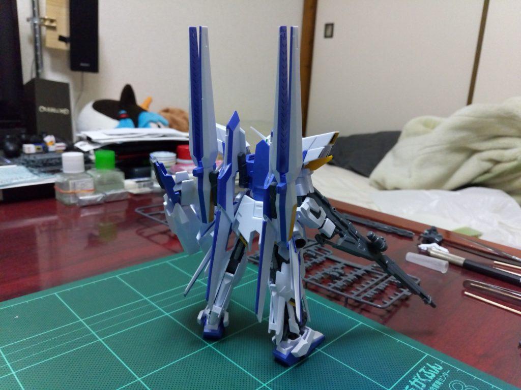HGUC 1/144 MSN-001X ガンダムデルタカイ [Gundam Delta Kai] 背面