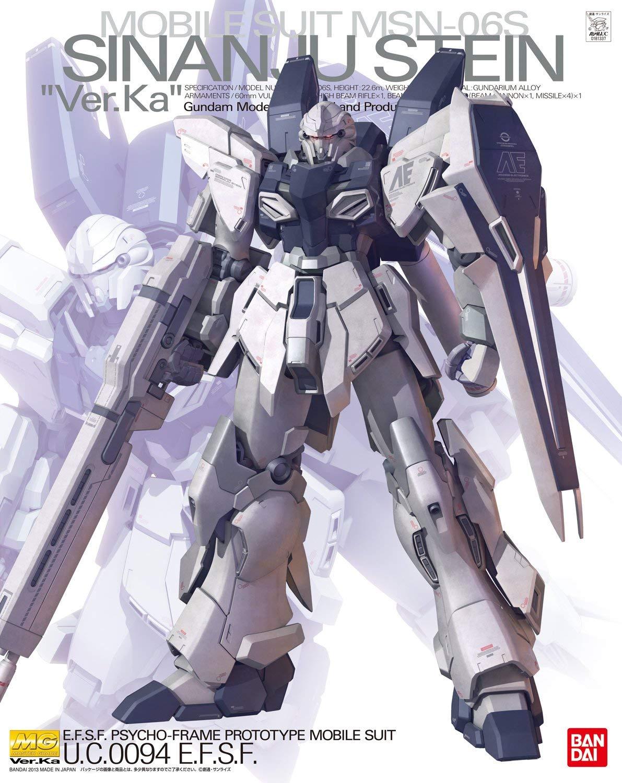 "MG 1/100 MSN-06S シナンジュ・スタイン Ver.Ka [Sinanju Stein ""Ver.Ka""] 0181337"
