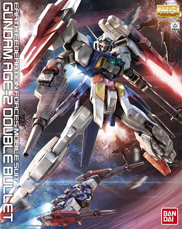 MG 1/100 AGE-2DB ガンダムAGE-2 ダブルバレット [Gundam AGE-2 Double Bullet]
