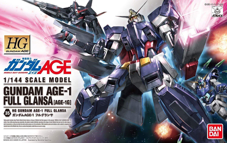 HG 1/144 AGE-1G ガンダムAGE-1 フルグランサ [Gundam AGE-1 Full Glansa]