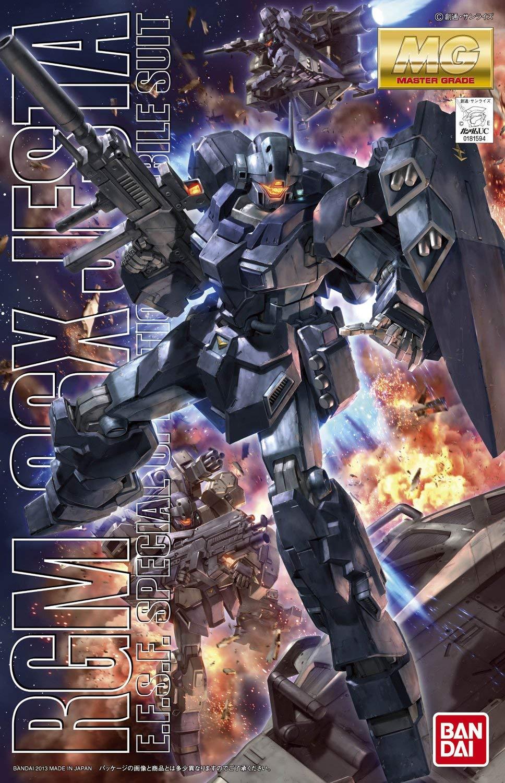 MG 1/100 RGM-96X ジェスタ パッケージアート