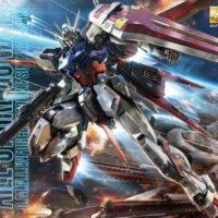 MG 1/100 GAT-X105 エールストライクガンダム Ver.RM [Aile Strike Gundam (Ver. RM)] パッケージ
