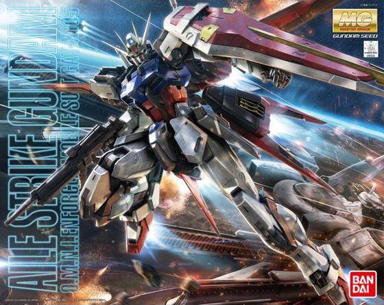 MG 1/100 GAT-X105 エールストライクガンダム Ver.RM [Aile Strike Gundam (Ver. RM)]