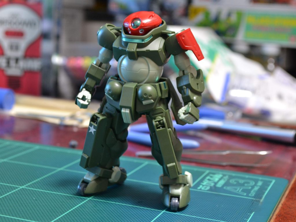 HGBD 003 1/144 GH-001RB グリモアレッドベレー [Grimoire Red Beret] 正面