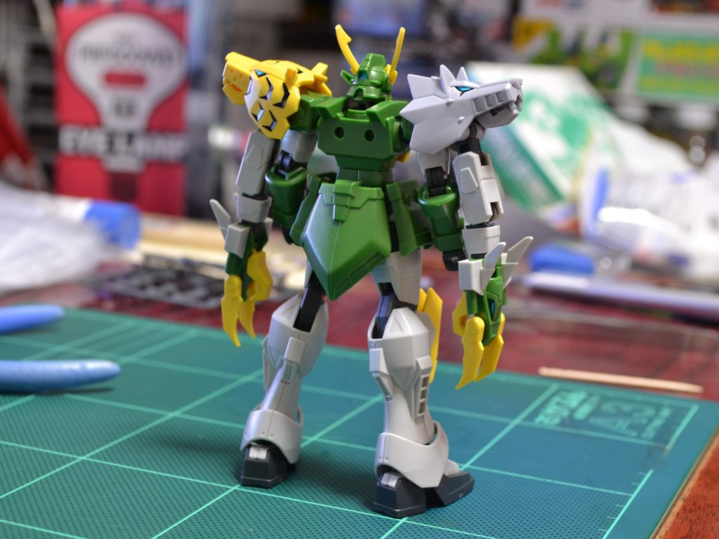 HGBD 1/144 XXXG-01S2龍虎狼 ガンダムジーエンアルトロン 背面