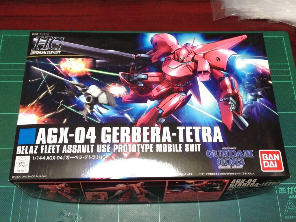 HGUC 1/144 AGX-04 ガーベラ・テトラ パッケージ