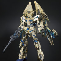 MG 1/100 RX-0 ユニコーンガンダム3号機 フェネクス [Unicorn Gundam 03 Phenex] 素組画像