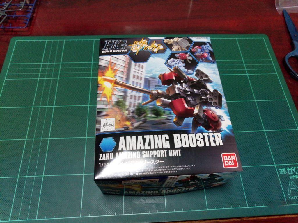HGBC 1/144 アメイジングブースター [Amazing Booster] パッケージ