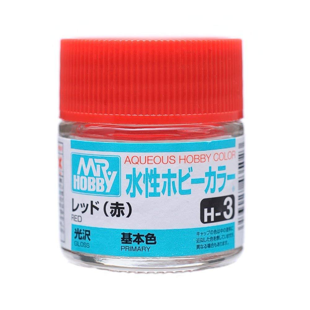 水性ホビーカラー H3 レッド(赤) 光沢