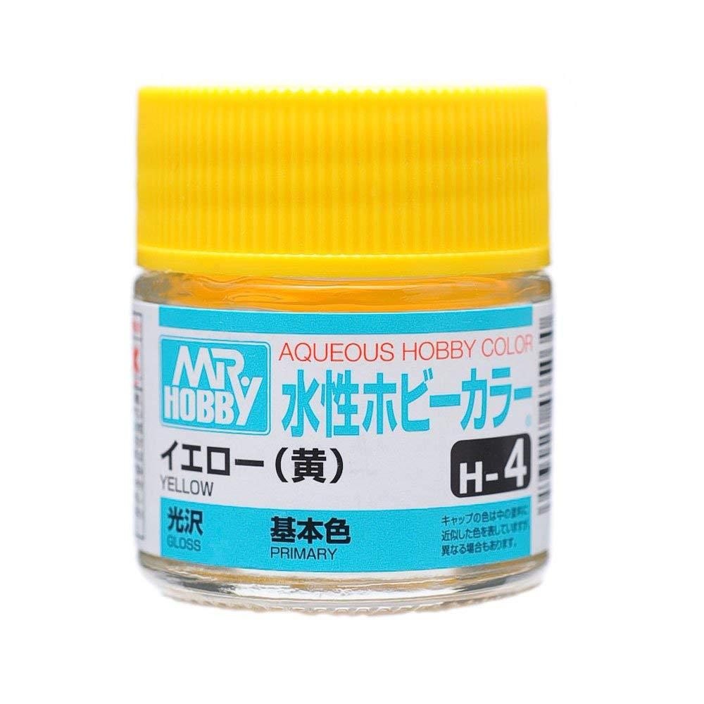 水性ホビーカラー H4 イエロー (黄) 光沢