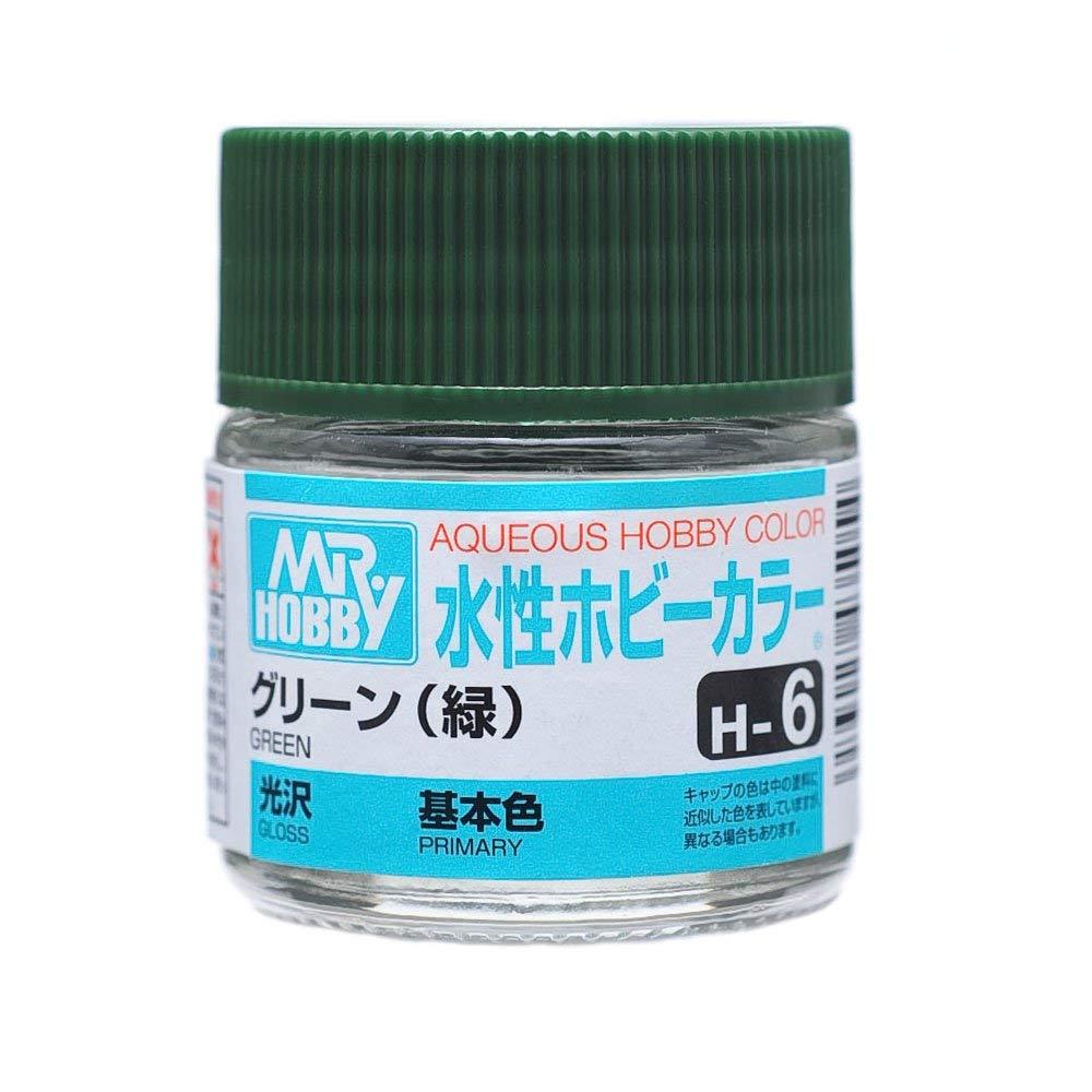水性ホビーカラー H6 グリーン (緑) 光沢