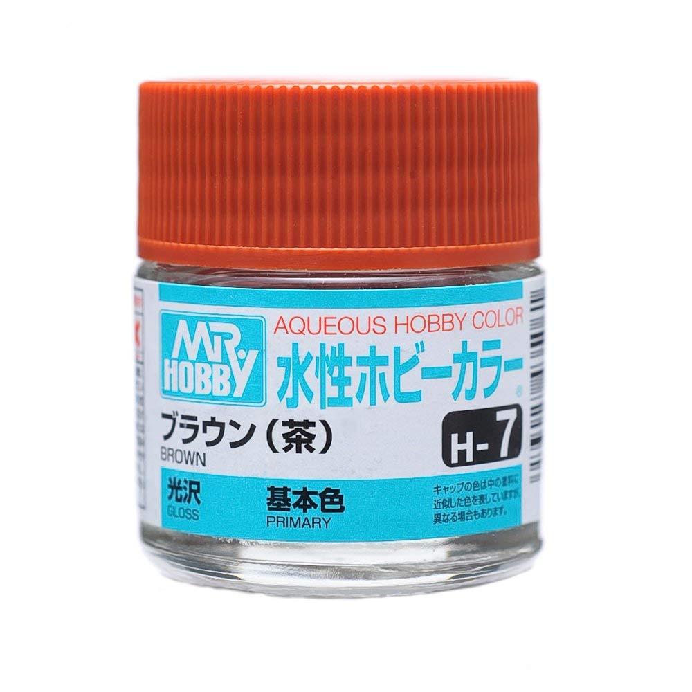 水性ホビーカラー H7 ブラウン (茶) 光沢